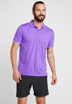 DRY TEAM - Sportshirt - psychic purple/white