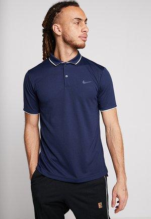 DRY TEAM - Sports shirt - obsidian/white/white