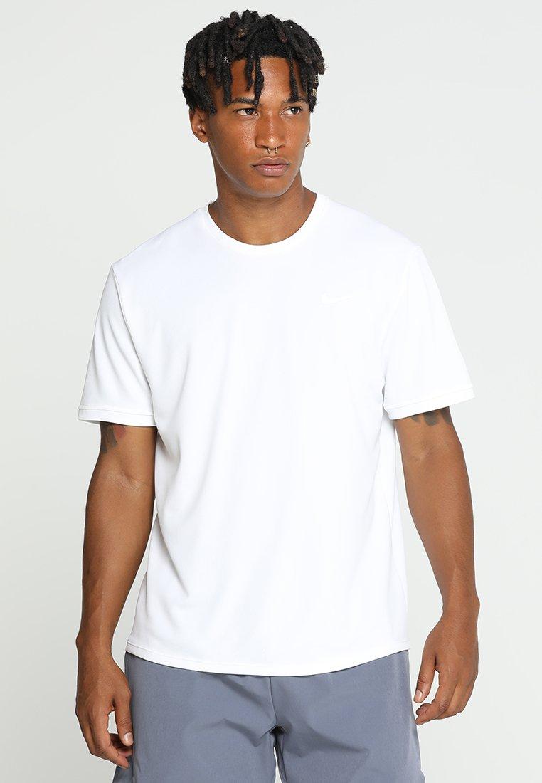 White Nike shirt Imprimé DryT black Performance JF1lcK