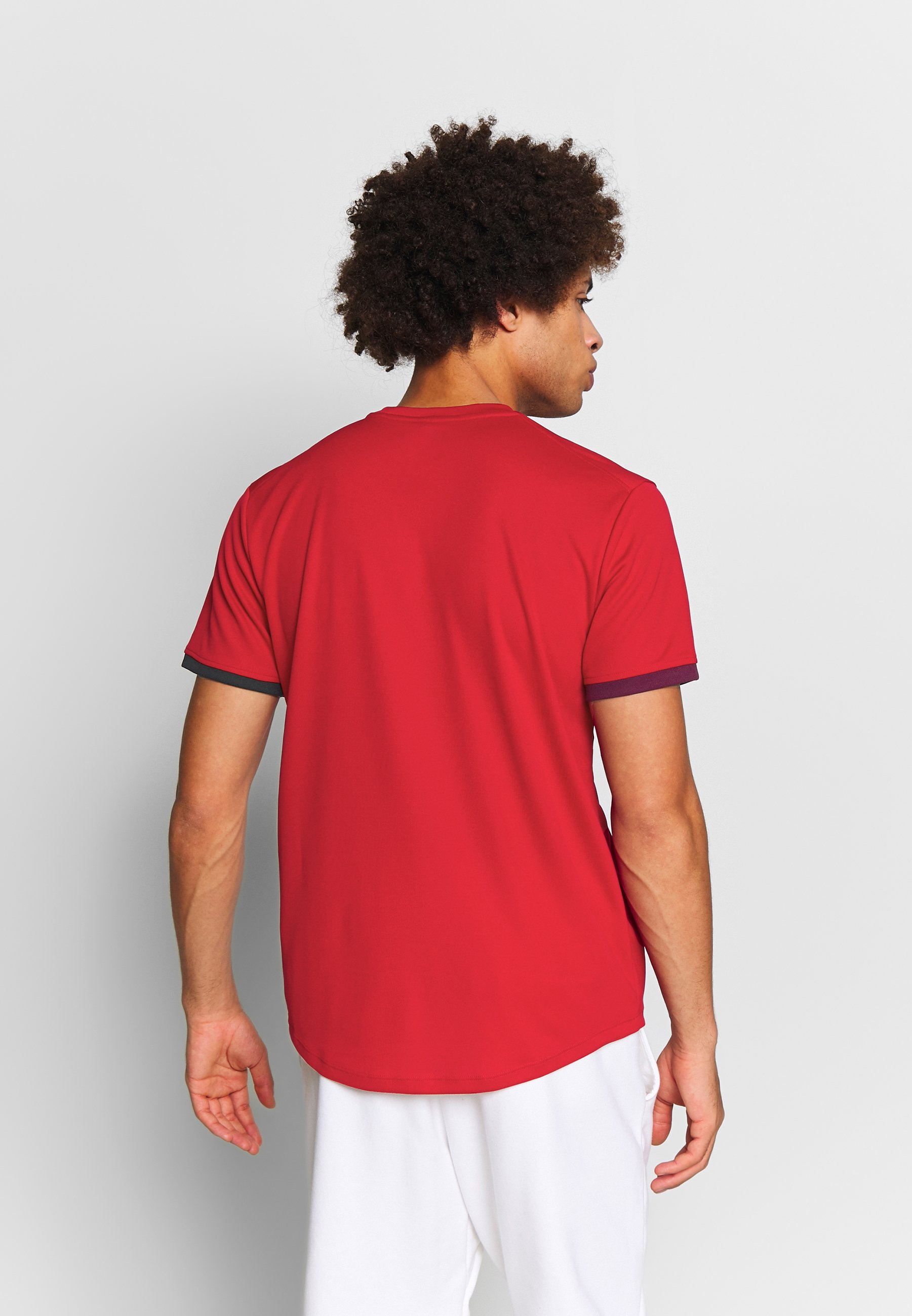 Nike Performance Dry - T-shirt Con Stampa Gym Red/black