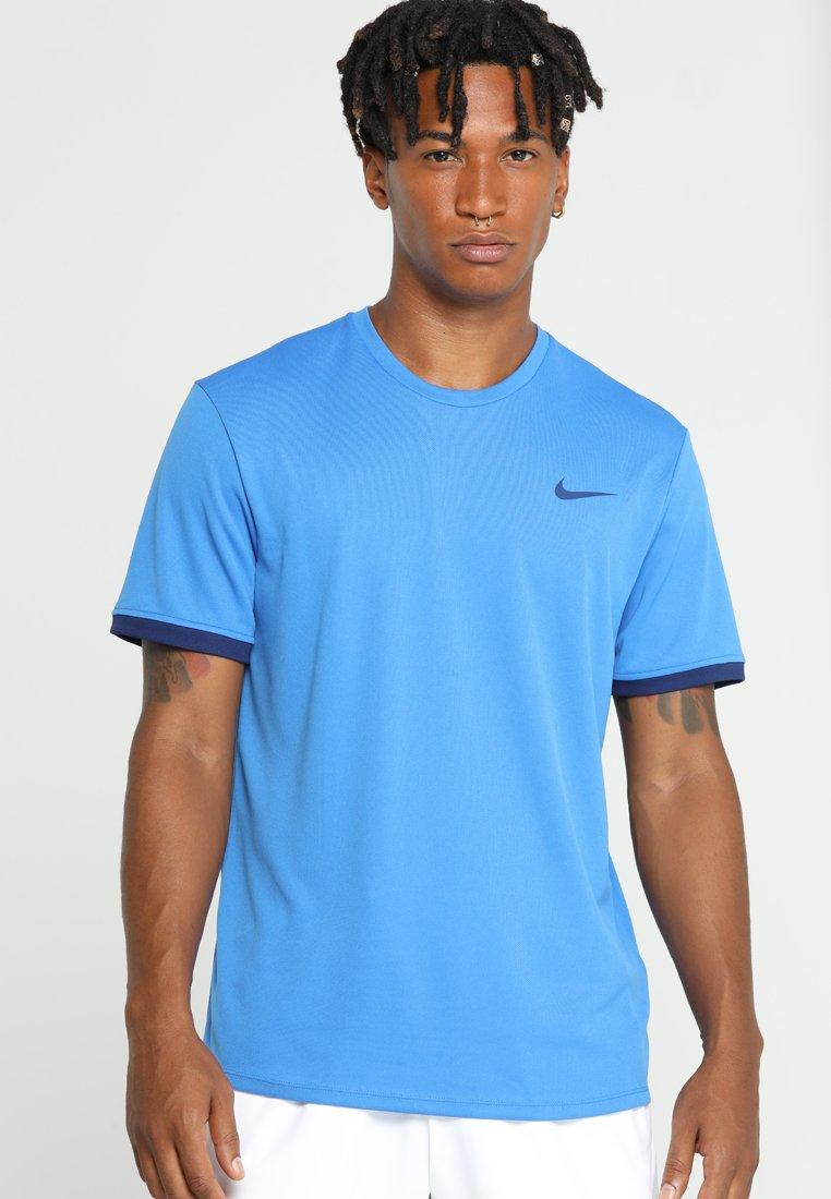 Nike Performance - DRY - Print T-shirt - signal blue/blue void/white