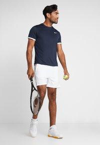 Nike Performance - DRY - Basic T-shirt - obsidian/white - 1