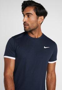 Nike Performance - DRY - Basic T-shirt - obsidian/white - 4