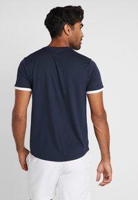 Nike Performance - DRY - Basic T-shirt - obsidian/white - 2