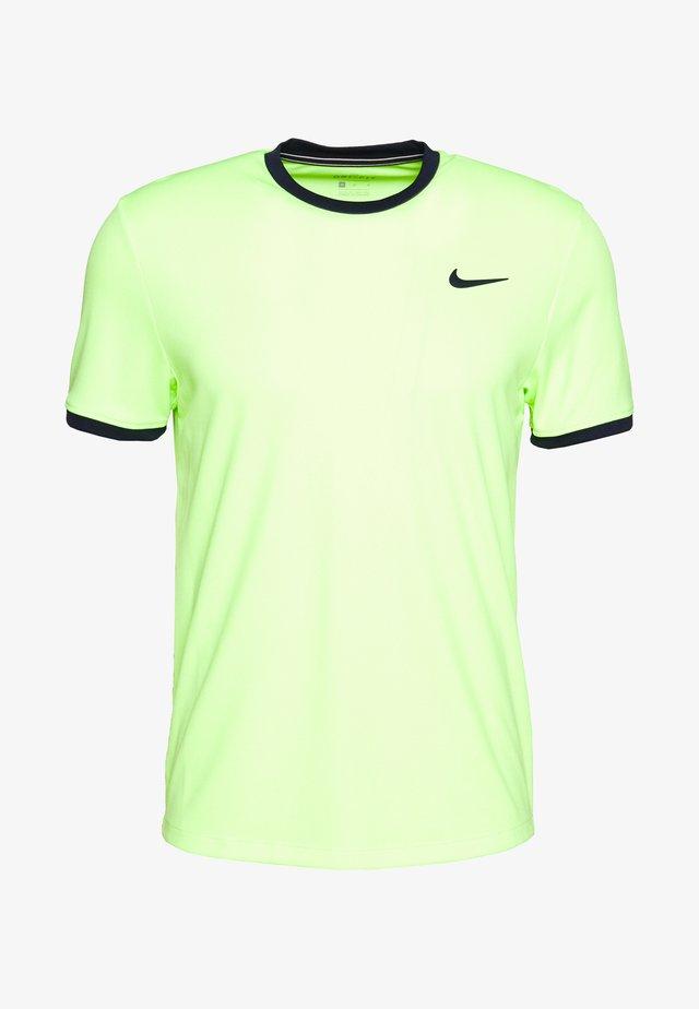 DRY - Camiseta estampada - ghost green/obsidian