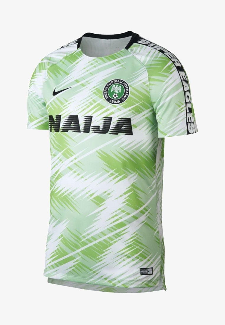 Nike Performance - NIGERIA DRI-FIT SQUAD  - Nationalmannschaft - white/black/black