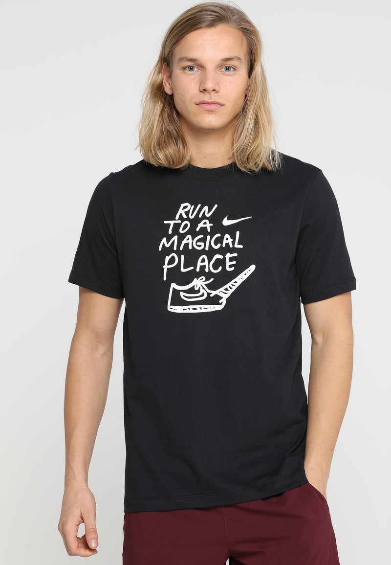 Nike Performance - ARTIST DFC GRAPHIC NATHAN BELL - T-Shirt print - black