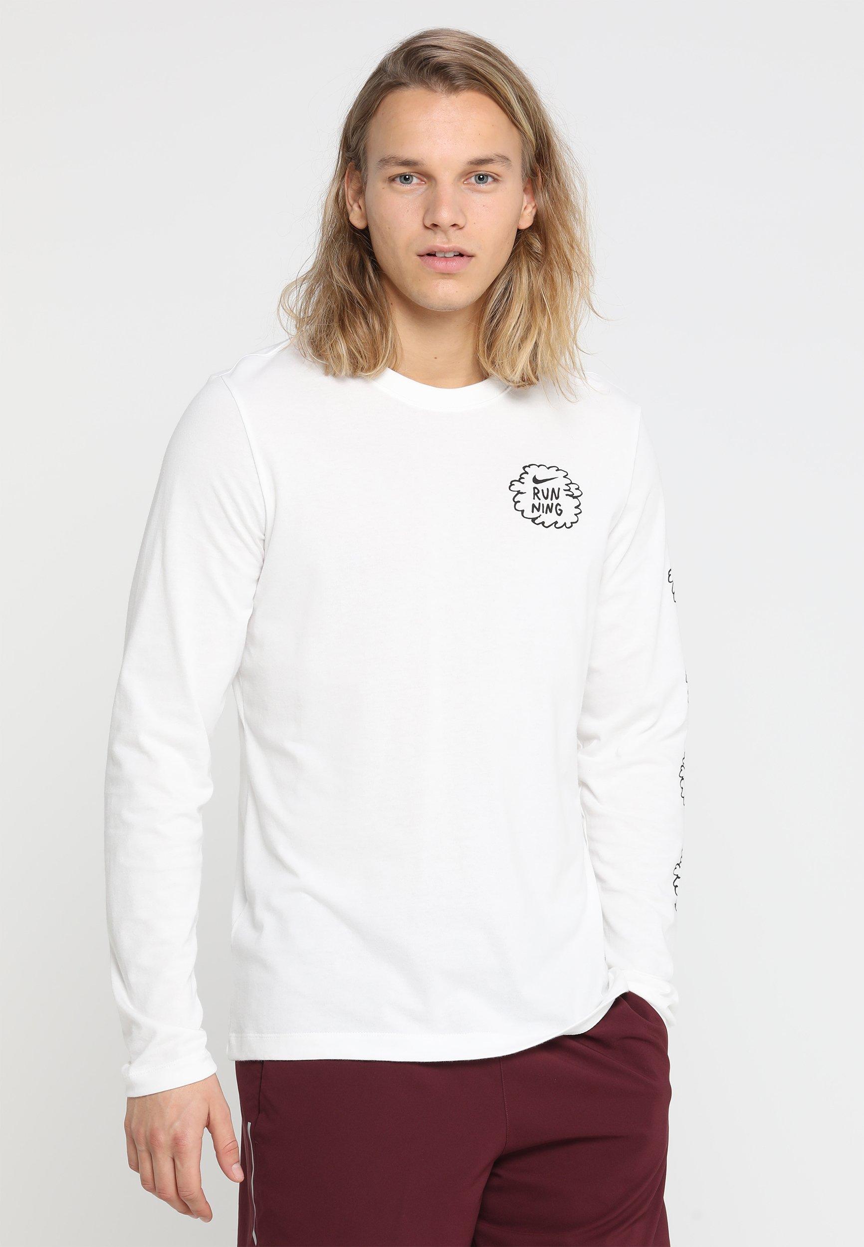 Nike Performance ARTIST LONG SLEEVES DFC GRAPHIC NATHAN BELL - T-shirt de sport sail
