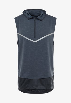 TECH PACK SPHERE SLEEVELESS TOP - Funktionströja - anthracite/anthracite/ silver