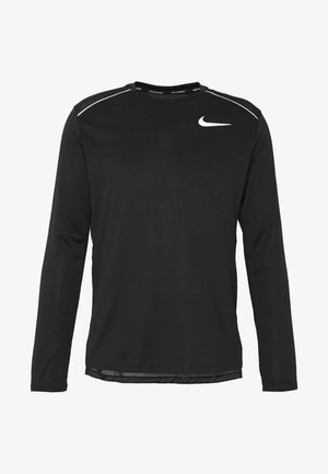 DRY MILER - T-shirt de sport - black/silver