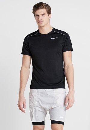 DRY MILER - Basic T-shirt - black/silver