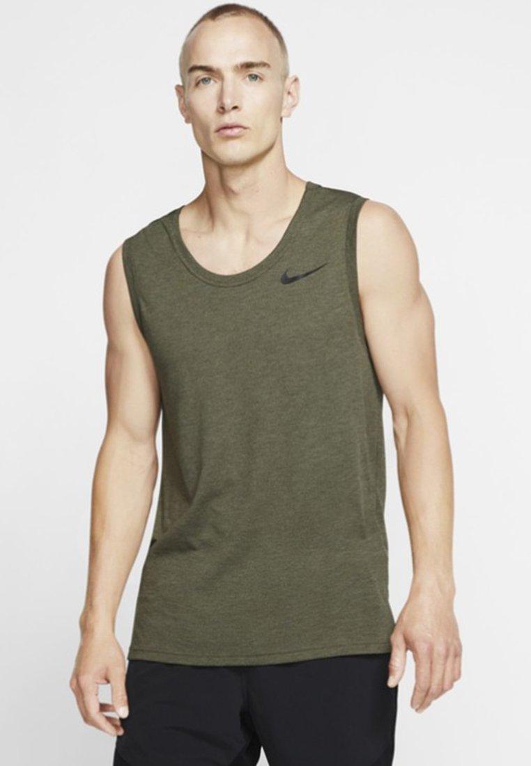 Performance Nike De shirt Tank HyperdryT Sport Olive W92DHIYeE
