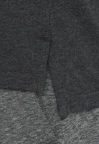 Nike Performance - TANK HYPERDRY - Sports shirt - black heather/metallic hematite - 5