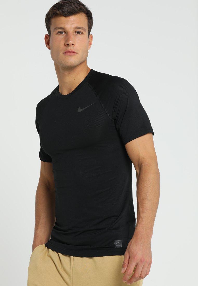 Nike Performance - Print T-shirt - black/anthracite/dark grey