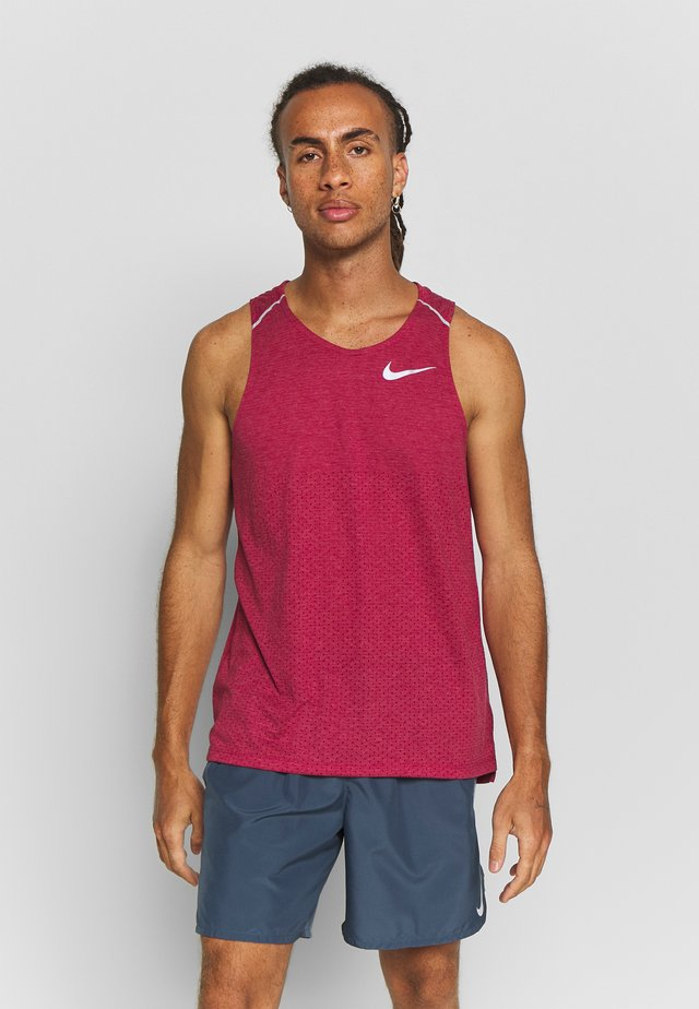 RISE TANK - Sports shirt - noble red