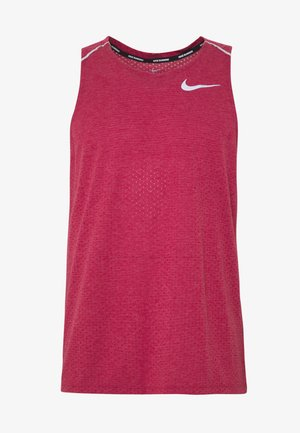 RISE TANK - Camiseta de deporte - noble red