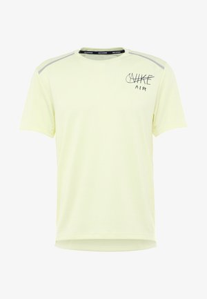 DRY MILER - T-shirt imprimé - luminous green/black/silver