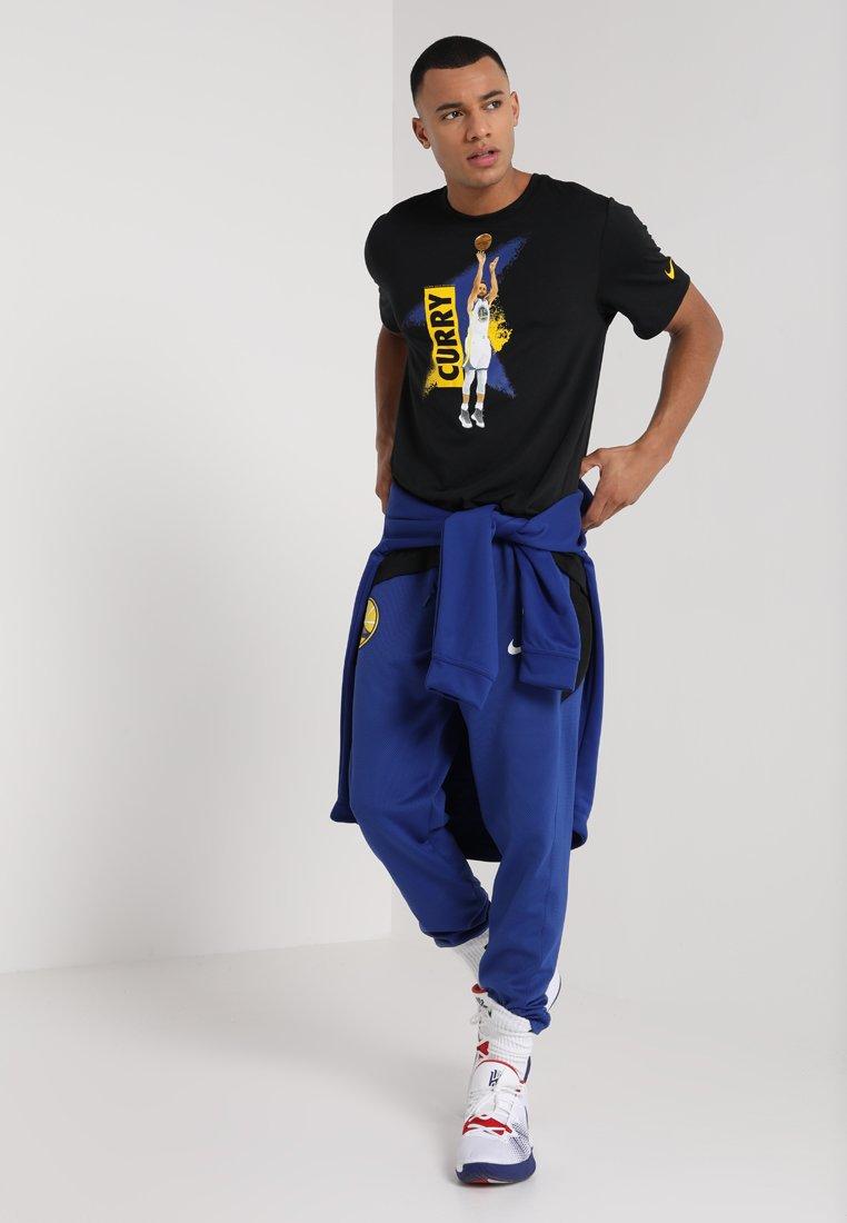 NBA GOLDEN STATE WARRIORS STEPHEN CURRY PLAYER TEE T shirt imprimé black