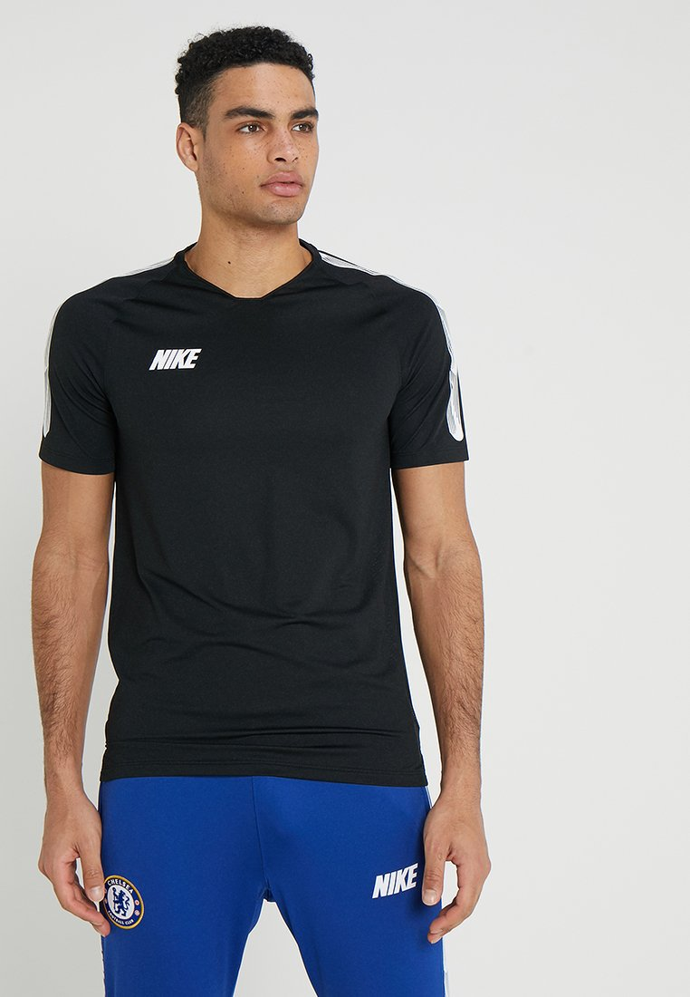 Nike Performance - Print T-shirt - black/white