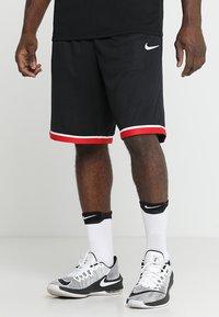 Nike Performance - CLASSIC - Krótkie spodenki sportowe - black/anthracite/white - 0