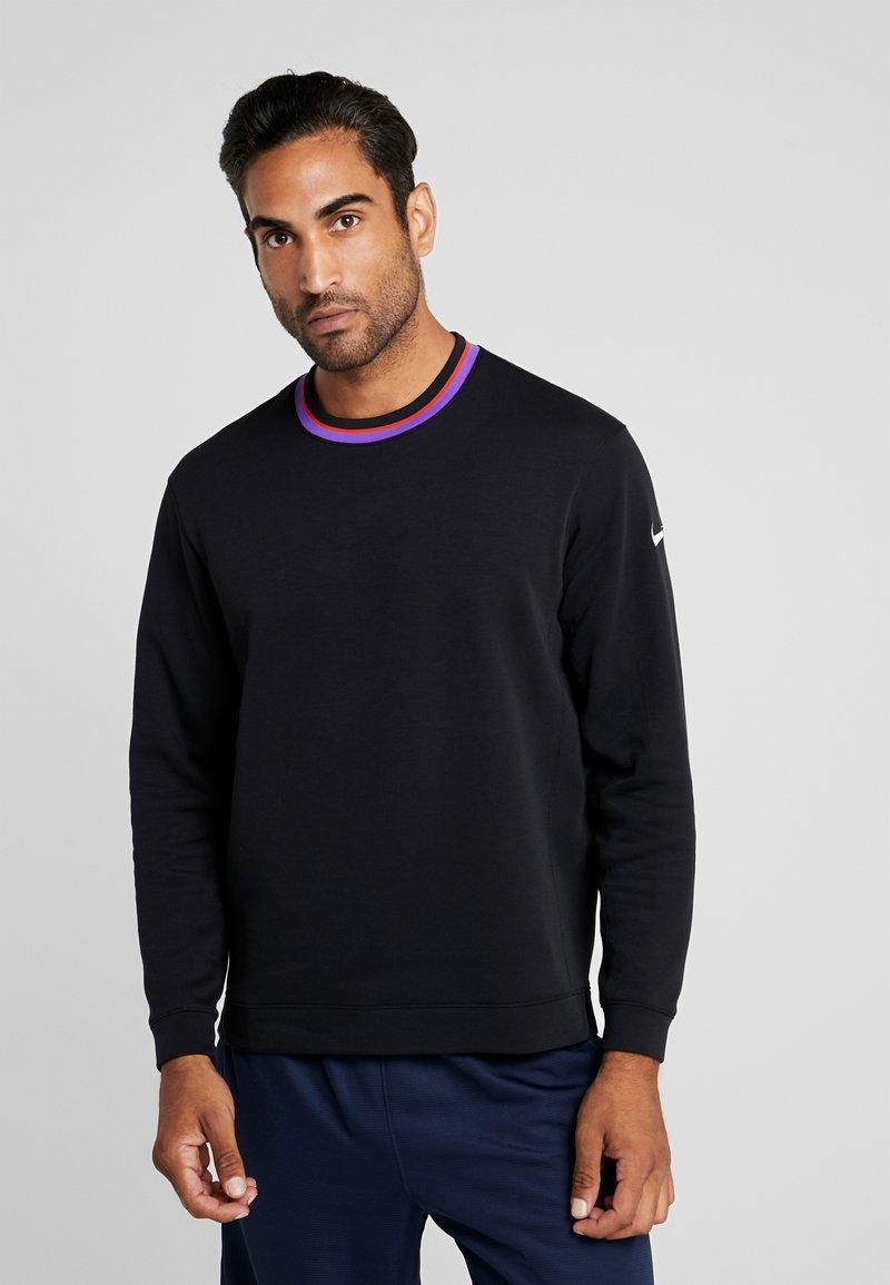 Nike Performance - DRY HOOP FLY - Camiseta de deporte - black/white