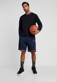 Nike Performance - DRY HOOP FLY - Camiseta de deporte - black/white - 1