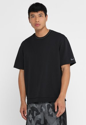 DRY HOOP FLY - Print T-shirt - black/anthracite