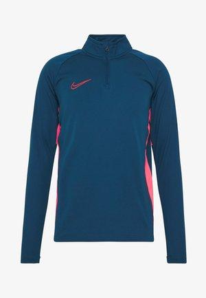 DRY  - Long sleeved top - valerian blue/laser crimson