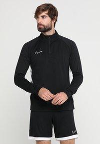 Nike Performance - DRY  - Camiseta de manga larga - black/white - 0