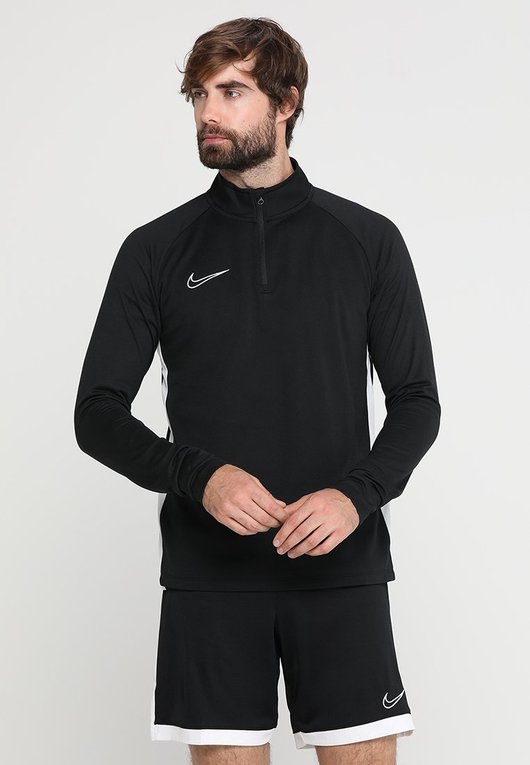 Nike Performance - DRY  - Camiseta de manga larga - black/white