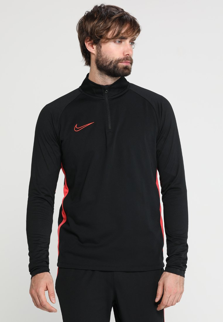 Nike Performance - DRY  - Sweat polaire - black/ember glow