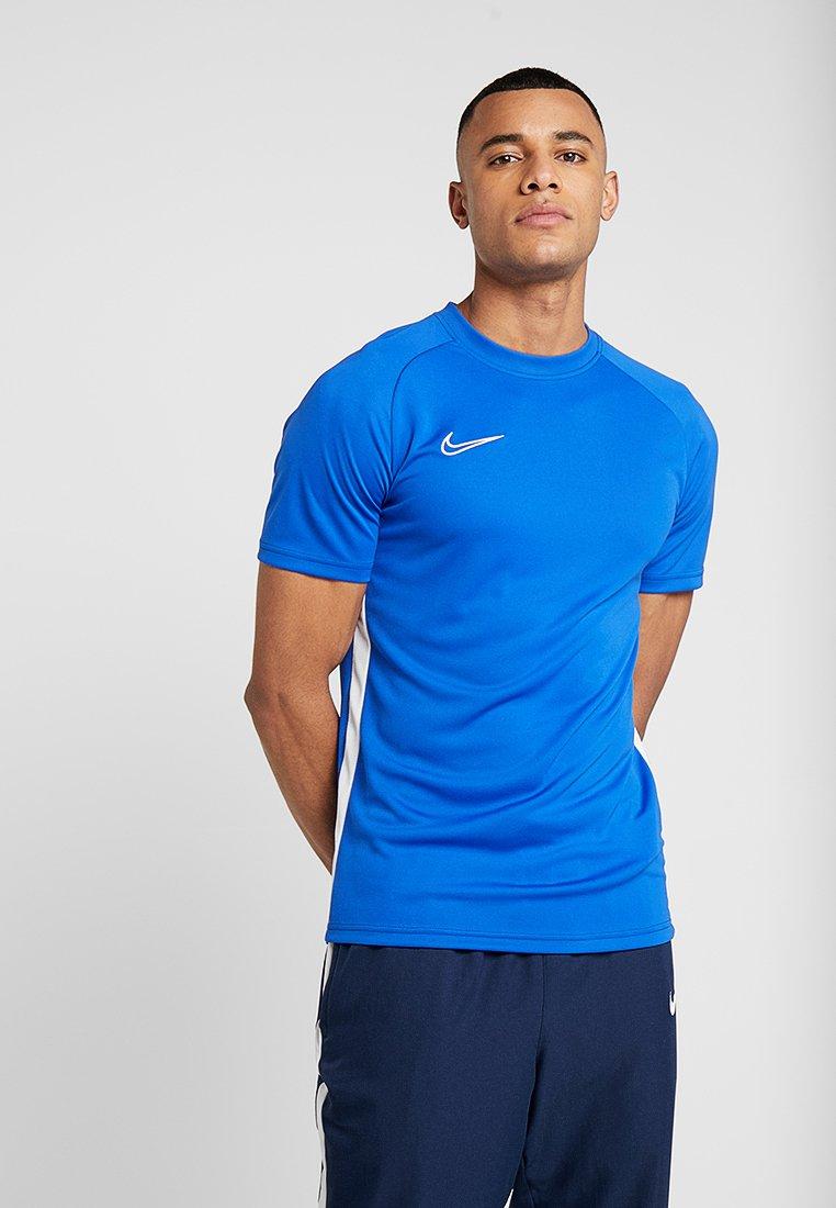 Nike Performance - DRY ACDMY  - T-shirt print - game royal/white