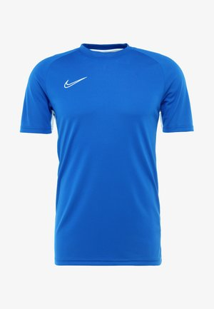 DRY ACDMY  - T-shirt con stampa - game royal/white