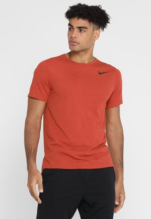 HYPERDRY - Basic T-shirt - mystic red/heather/black