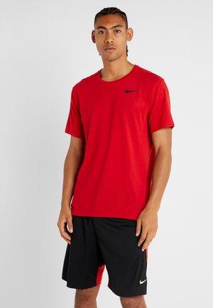 HYPERDRY - Camiseta básica - university red/black