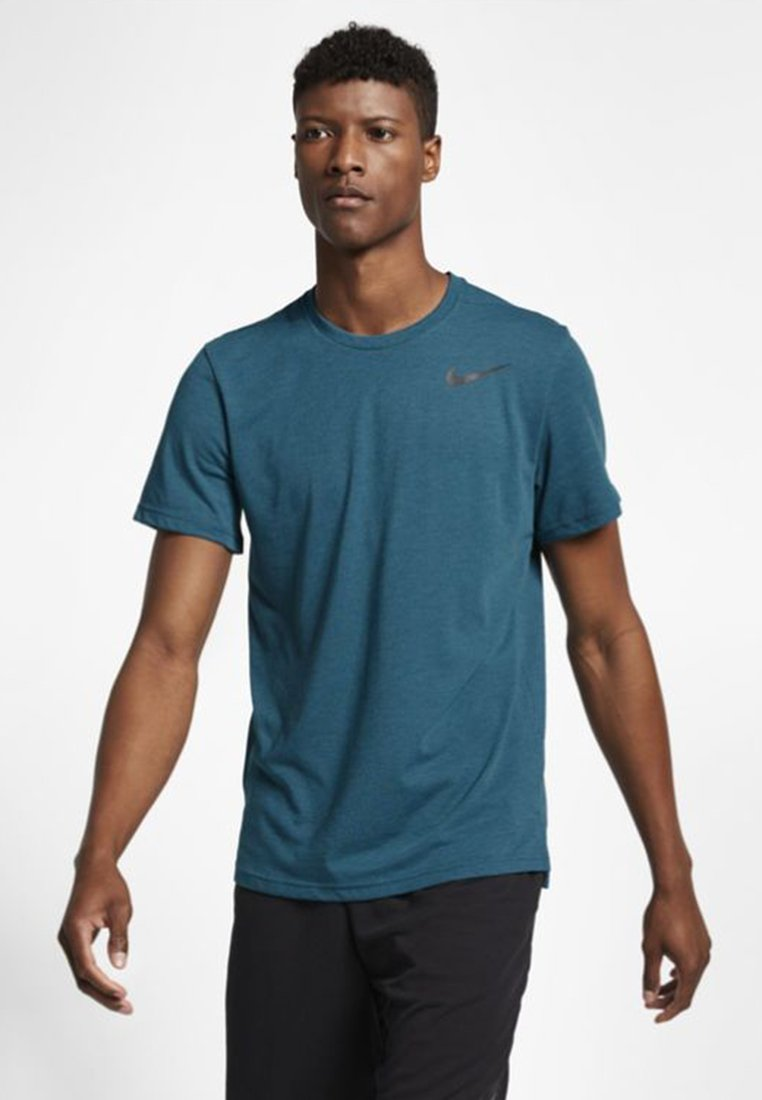 Nike Performance - HYPERDRY - T-shirts basic - dark green/dark grey/black