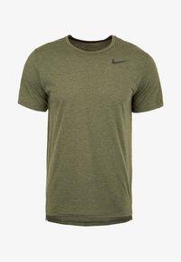Nike Performance - HYPERDRY - Basic T-shirt - olive - 0