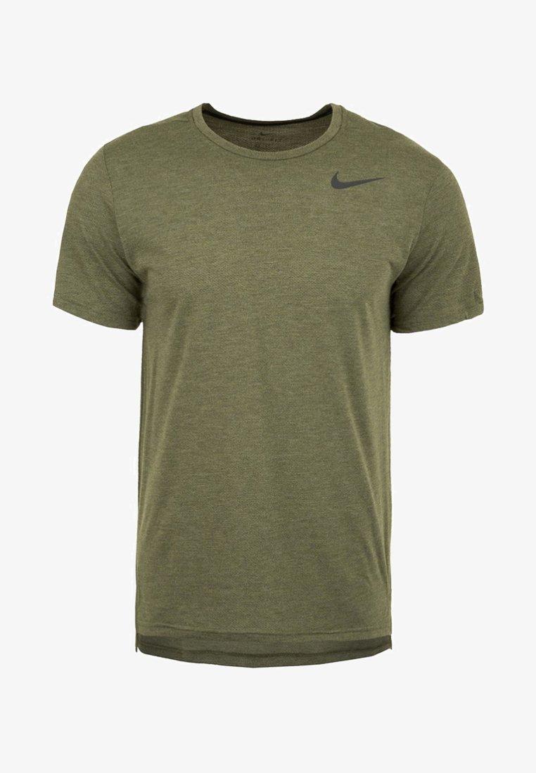 Nike Performance - HYPERDRY - Basic T-shirt - olive