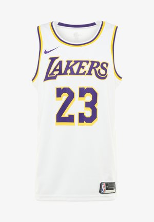 NBA LA LAKERS LEBRON JAMES SWINGMAN - Equipación de clubes - white