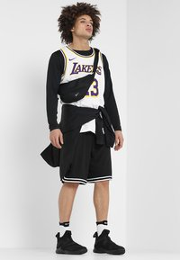 Nike Performance - NBA LA LAKERS LEBRON JAMES SWINGMAN - Equipación de clubes - white - 1