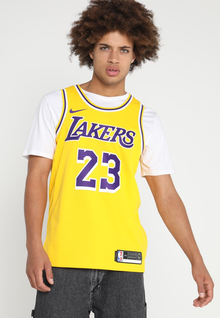 Nike Performance - NBA LA LAKERS LEBRON JAMES SWINGMAN - Klubtrøjer - amarillo/field purple/white