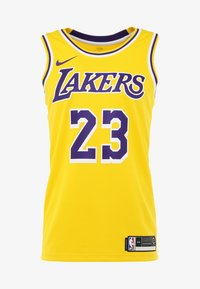 Nike Performance - NBA LA LAKERS LEBRON JAMES SWINGMAN - Article de supporter - amarillo/field purple/white