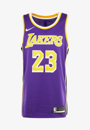 NBA LA LAKERS LEBRON JAMES SWINGMAN - Klubové oblečení - purple