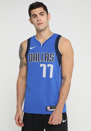 NBA LUKA DONCIC DALLAS MAVERICS SWINGMAN JERSEY - Klubové oblečení - royal/college navy