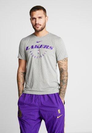 NBA LA LAKERS DRY - Equipación de clubes - grey heather