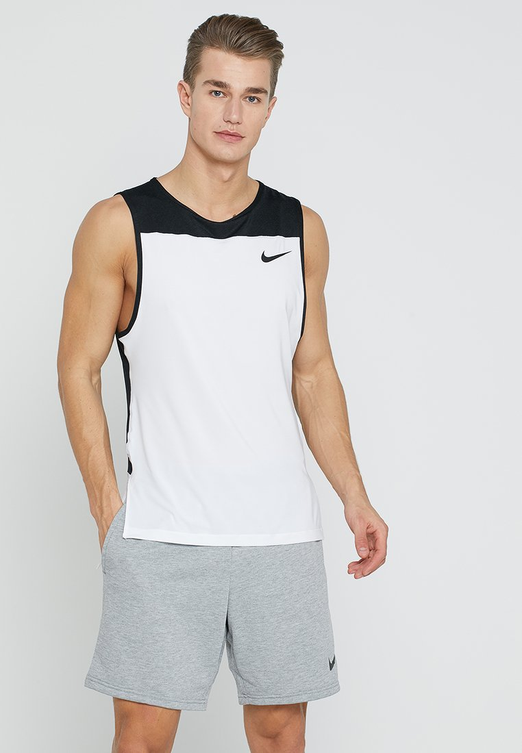Nike Performance - TANK  - Funktionströja - white/black/black