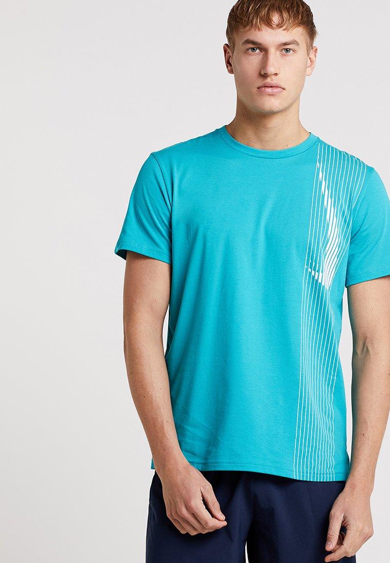 Nike Performance - DRY - T-shirt print - spirit teal/obsidian/white