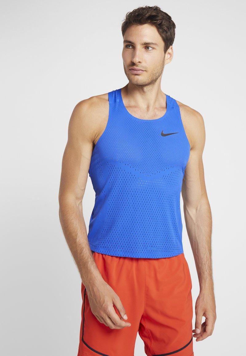 Nike Performance - AROSWFT TANK - Linne - hyper royal/black