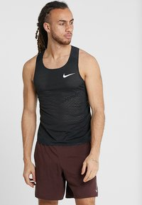 Nike Performance - AROSWFT TANK - Funktionströja - black/white - 0