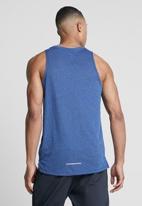 Nike Performance - RISE TANK - Sports shirt - blue void/pure - 2